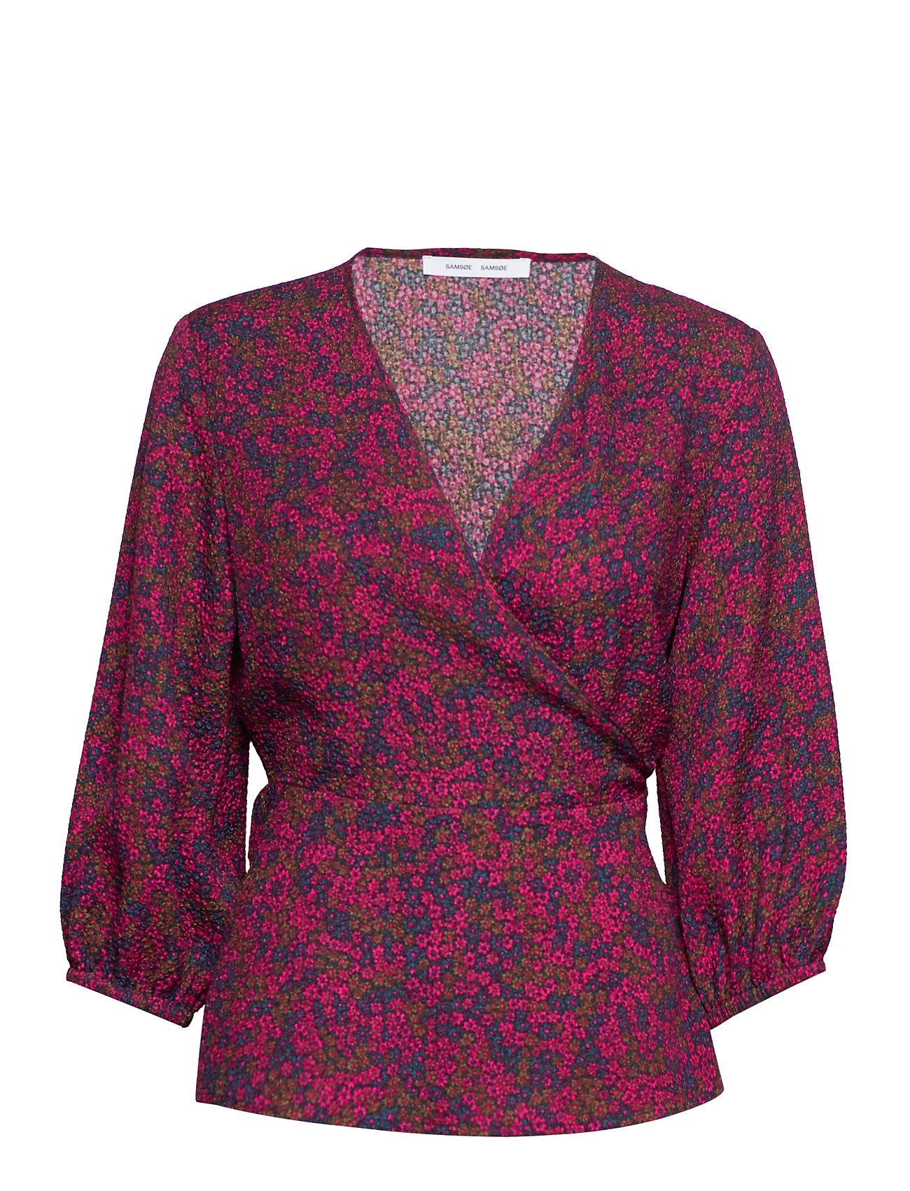 Samsøe & Samsøe Veneta blouse aop 7947 - MOONLIGHT FLOWER