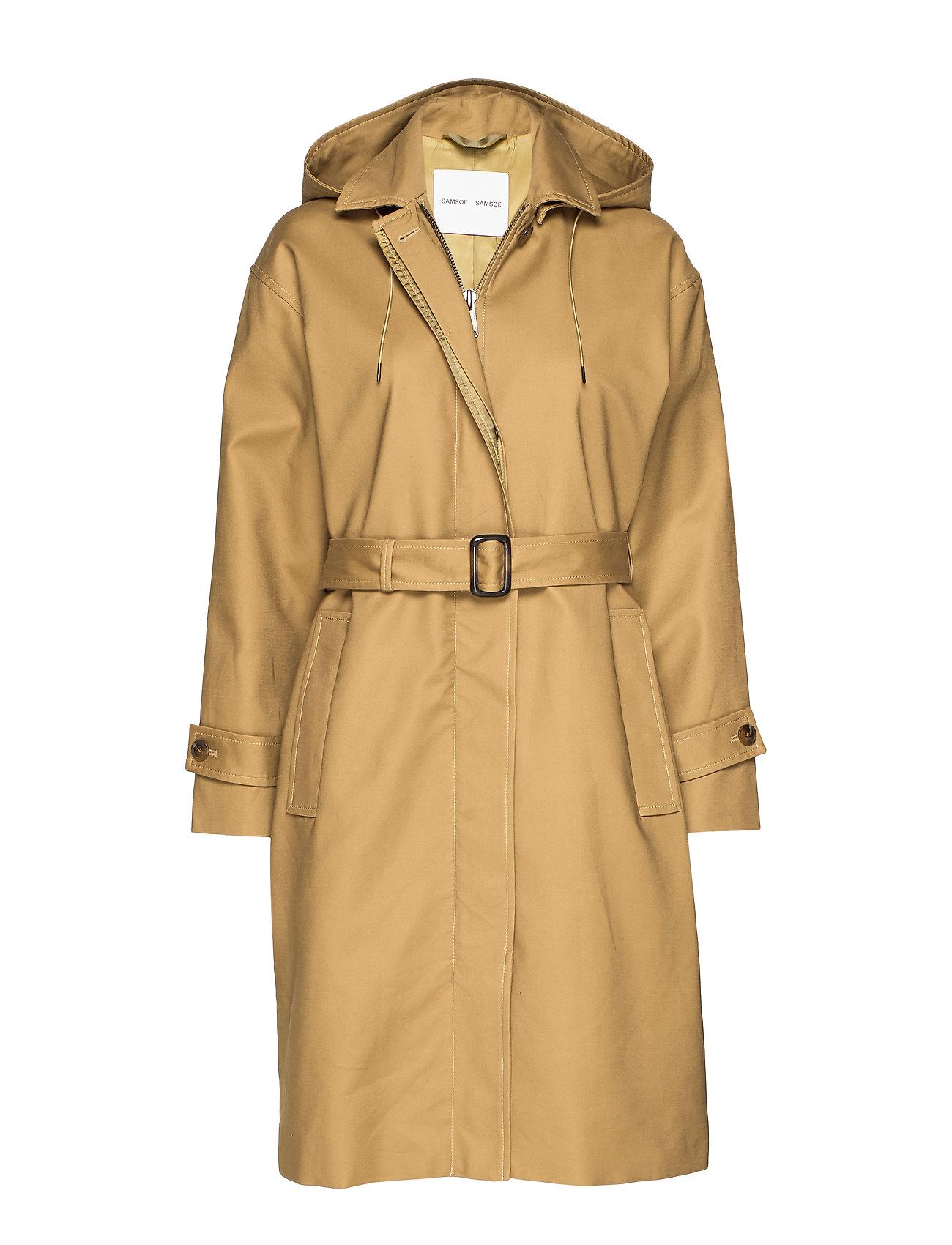 Samsøe Samsøe Delila coat 9732 - GREEN KHAKI