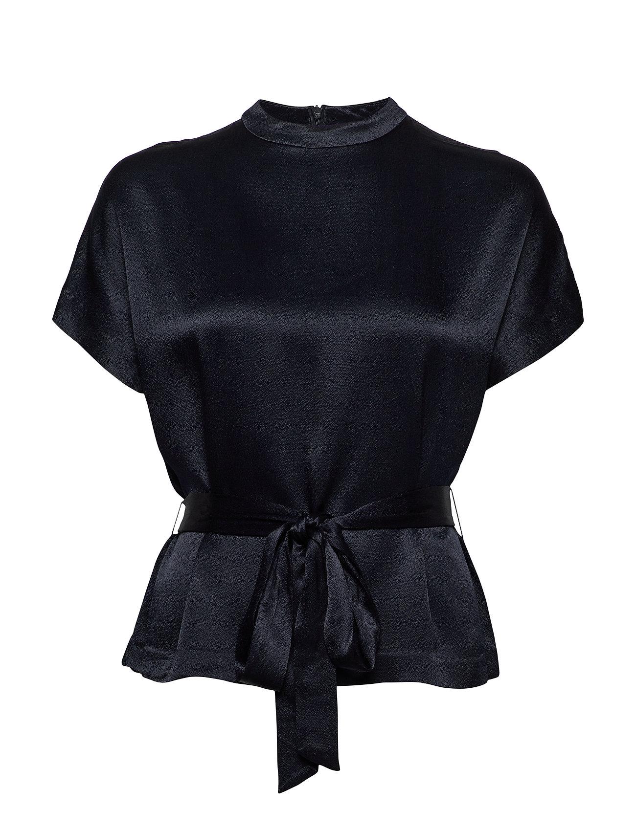 Samsøe & Samsøe Kimberly blouse ss 10447 - NIGHT SKY
