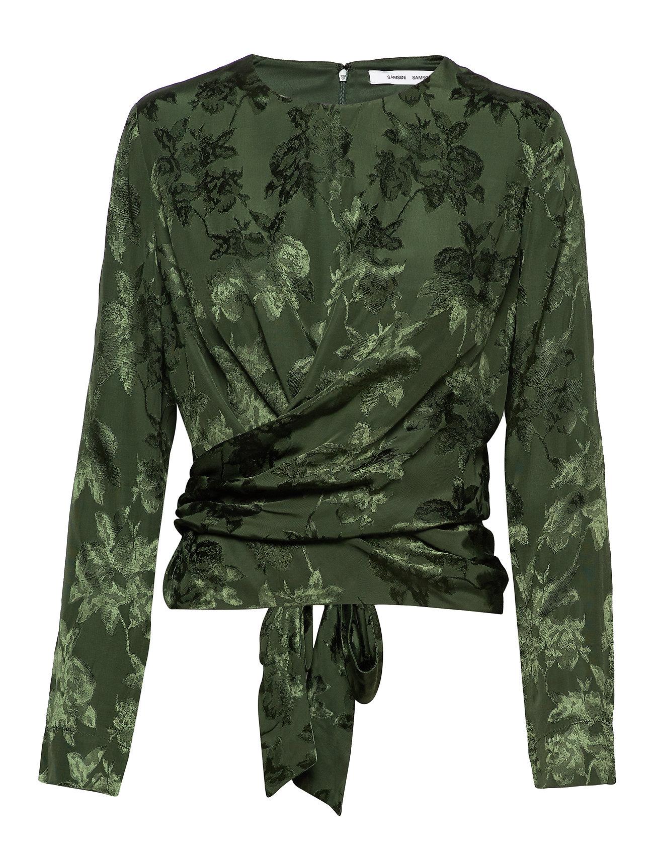 Samsøe & Samsøe Ono blouse 11333 - DEEP FOREST