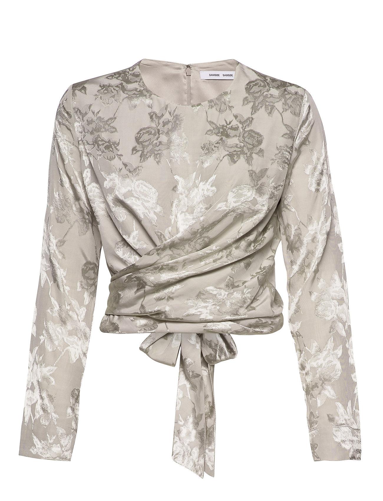Samsøe & Samsøe Ono blouse 11333 - SILVER CLOUD