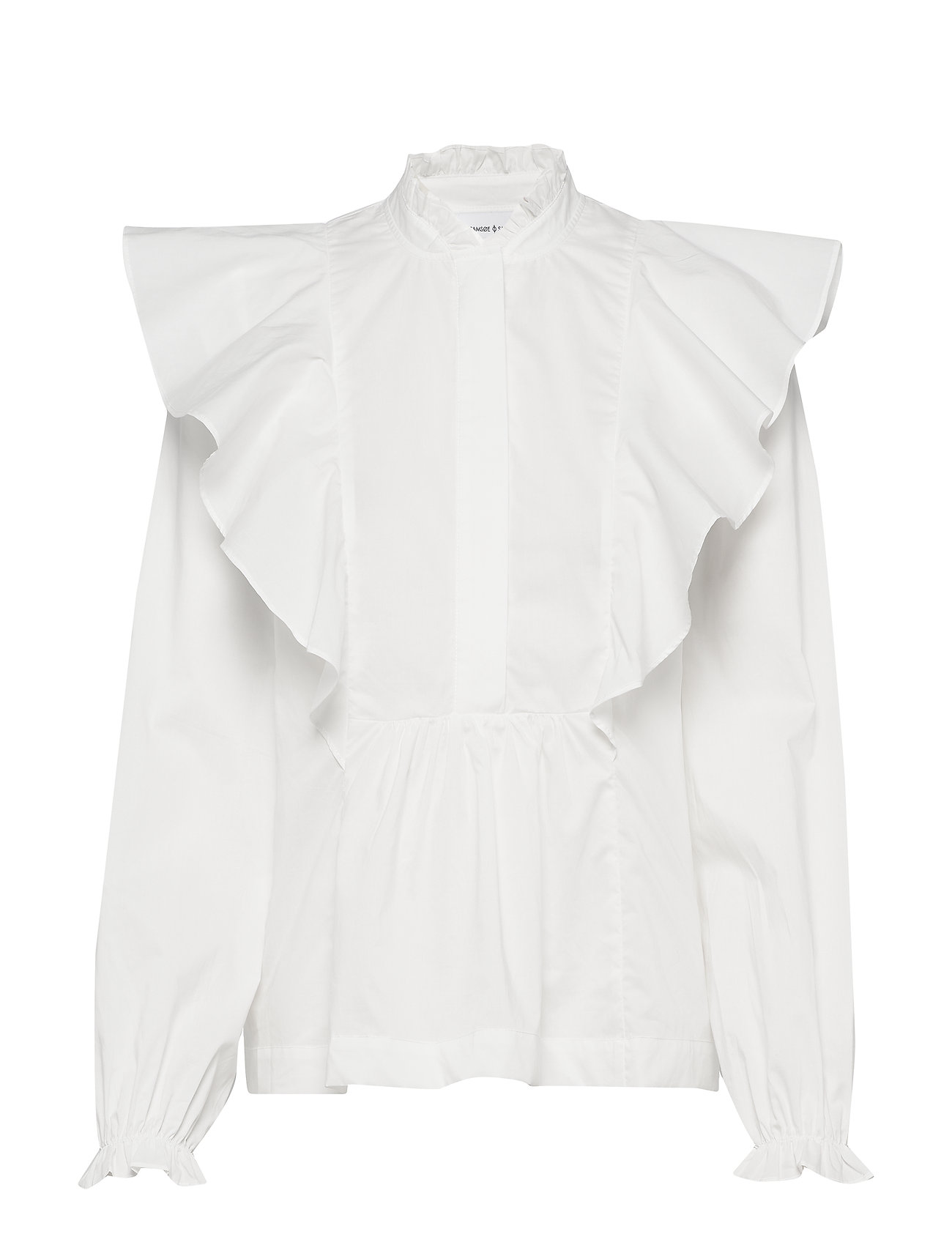 Samsøe & Samsøe Martha shirt 10451 - CLEAR CREAM