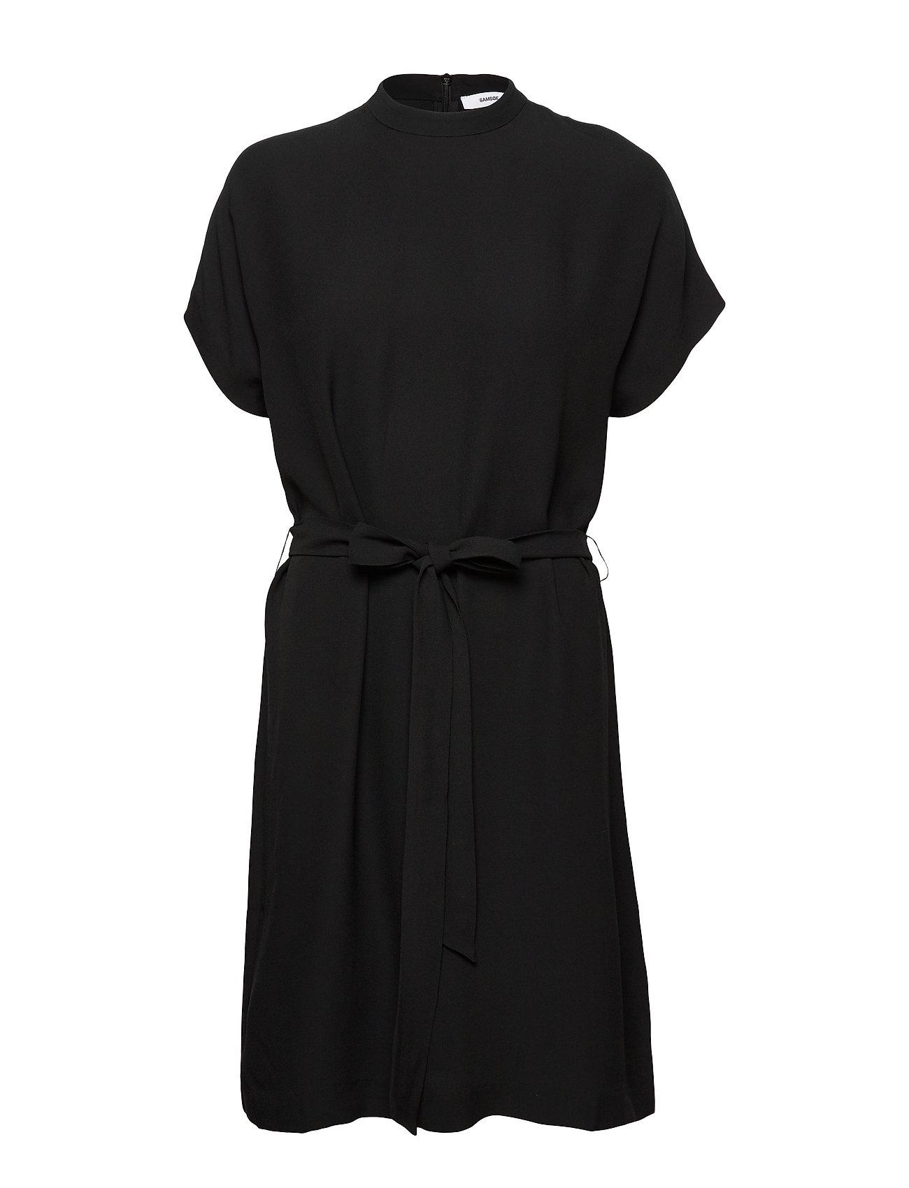 Samsøe & Samsøe Kimberly ss dress 8325 - BLACK