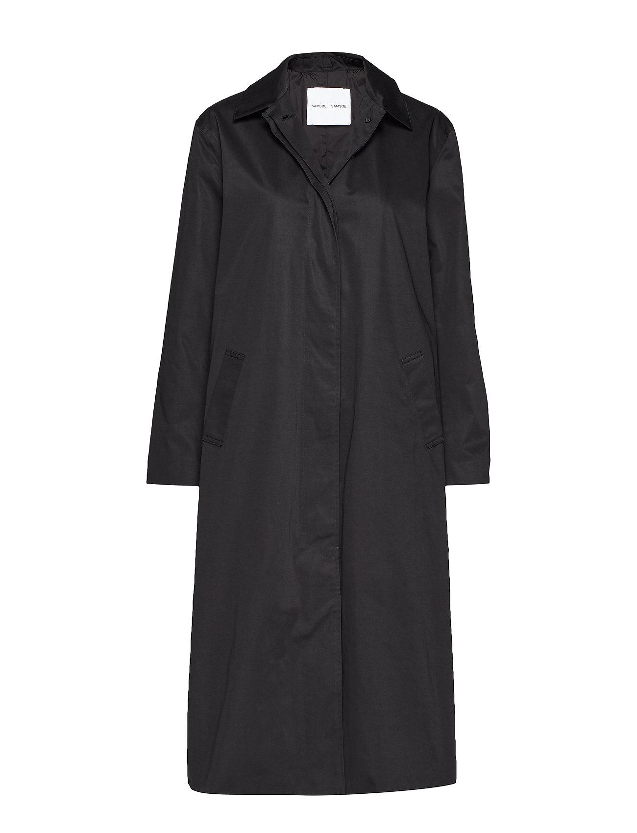 Samsøe Samsøe Minoux coat 12681 - BLACK