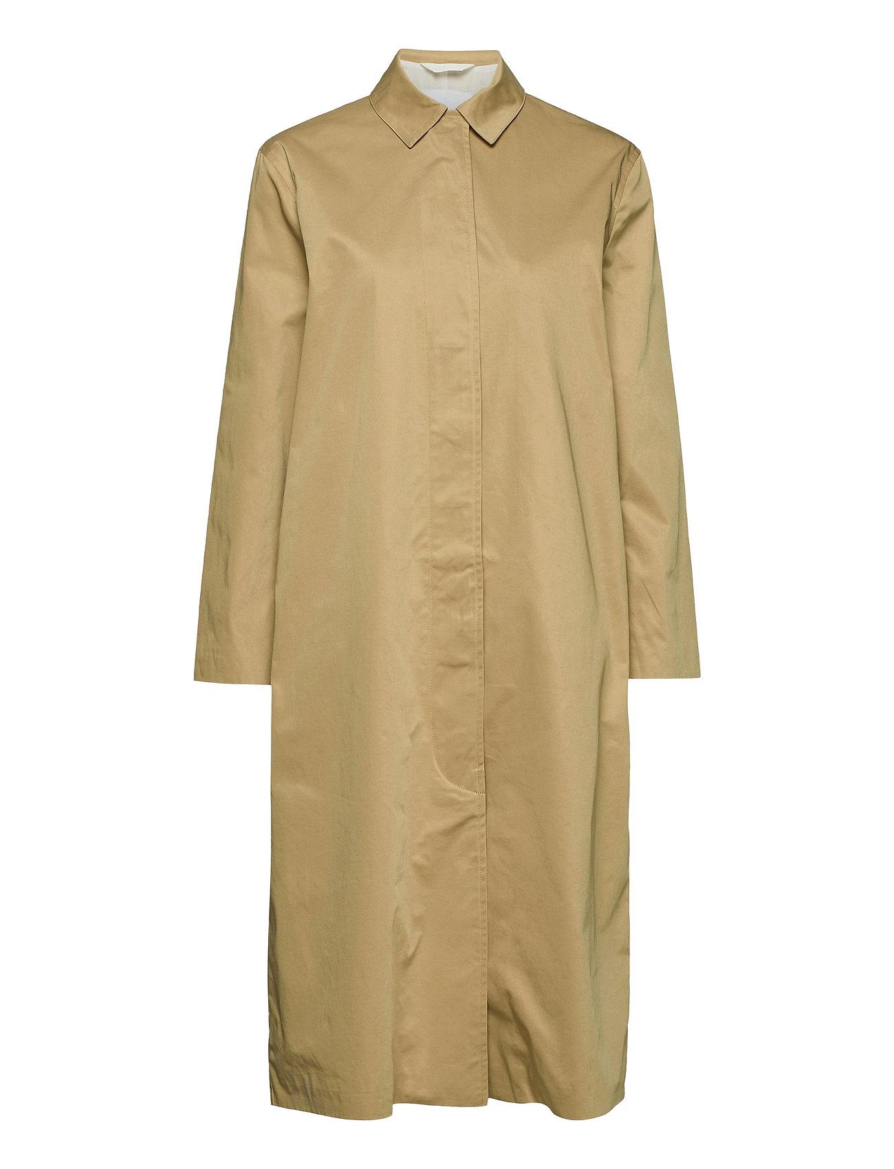 Samsøe Samsøe Minoux coat 12681 - CROISSANT