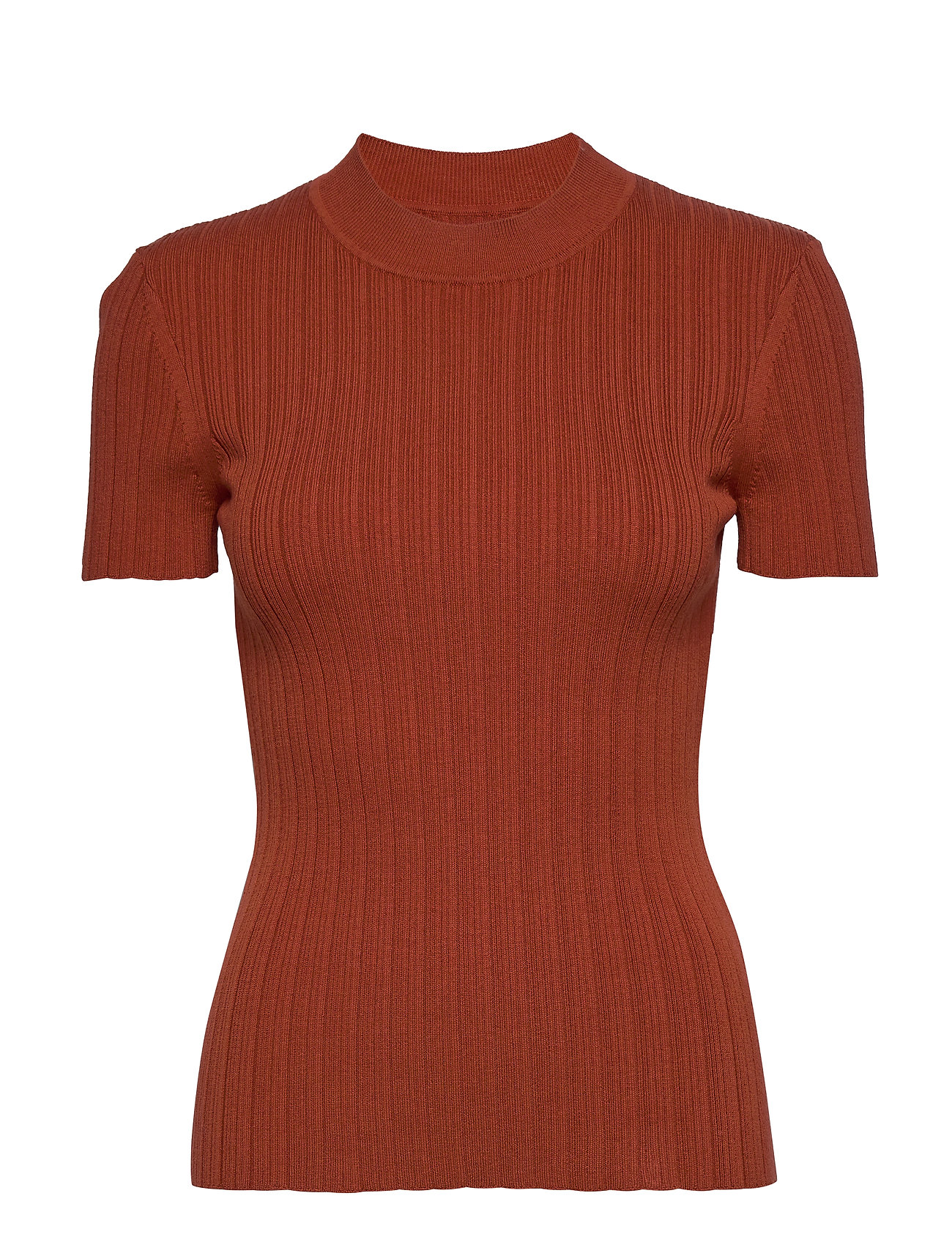 Image of Joan T-Shirt 11559 T-shirt Top Orange Samsøe Samsøe (3413103523)