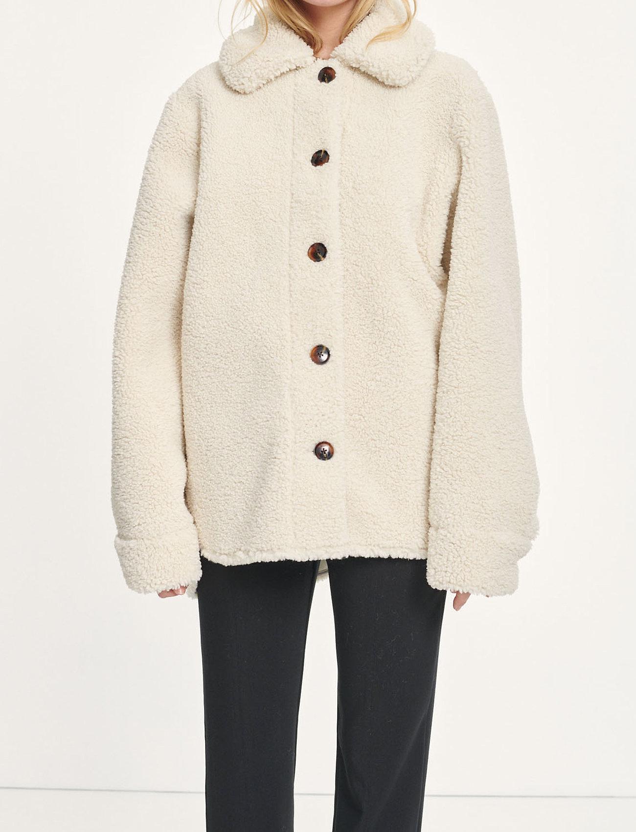 Samsøe Samsøe - Aylin jacket 12856 - wool jackets - whisper white - 0