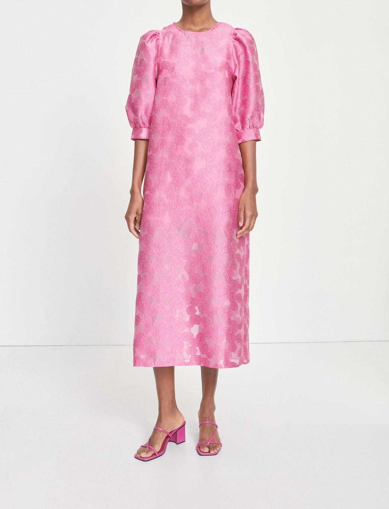 Samsøe Samsøe - Celestina long dress 12939 - kveldskjoler - bubble gum pink - 0