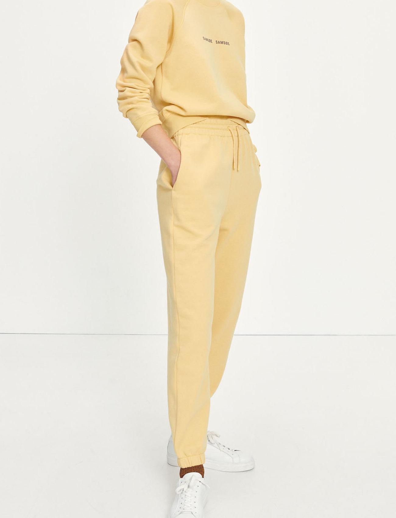 Samsøe Samsøe - Carmen trousers 10902 - sweatpants - sahara sun - 0