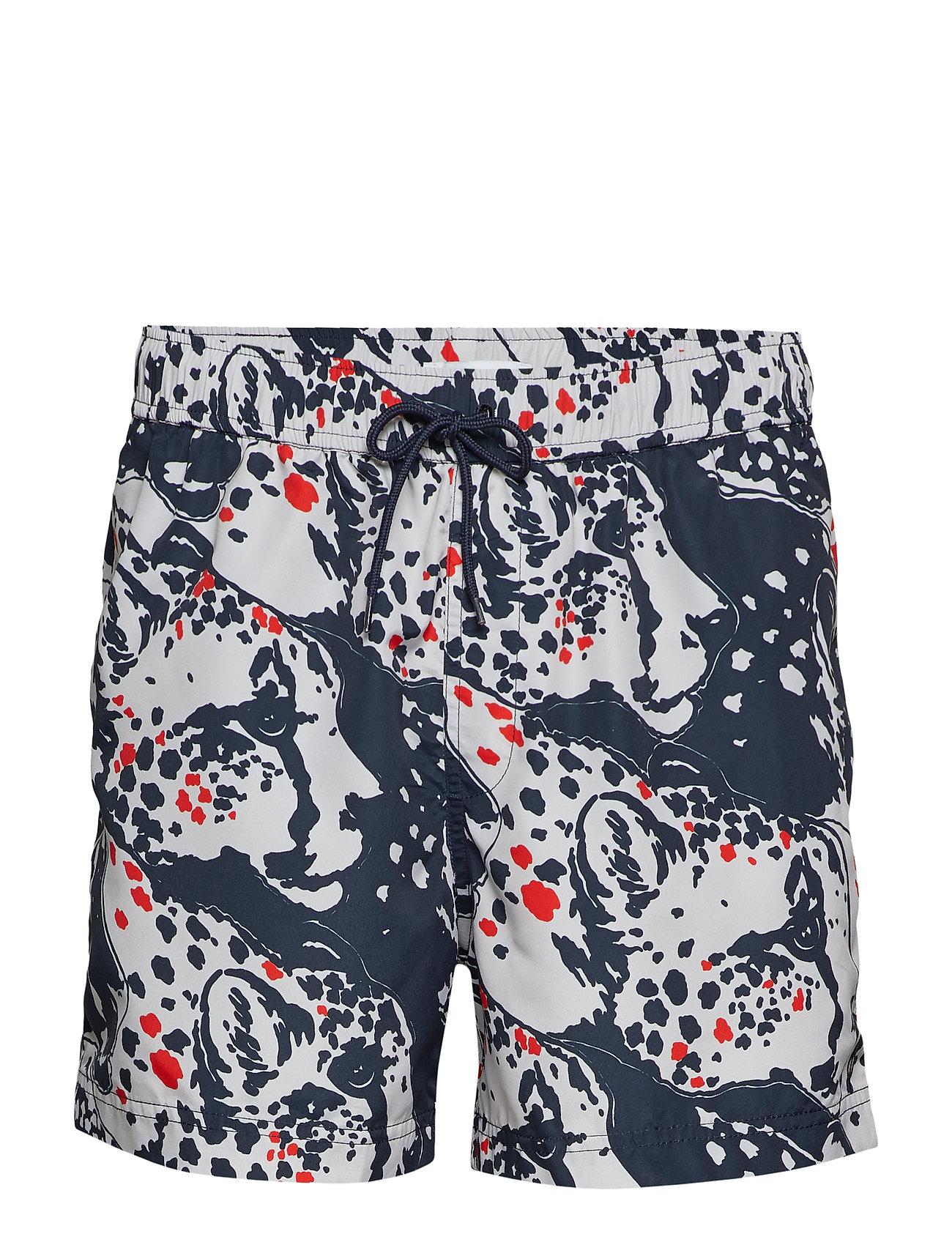 Shorts Mason Aop PantheraSamsøeamp; Swim 6956blue srxdChQt