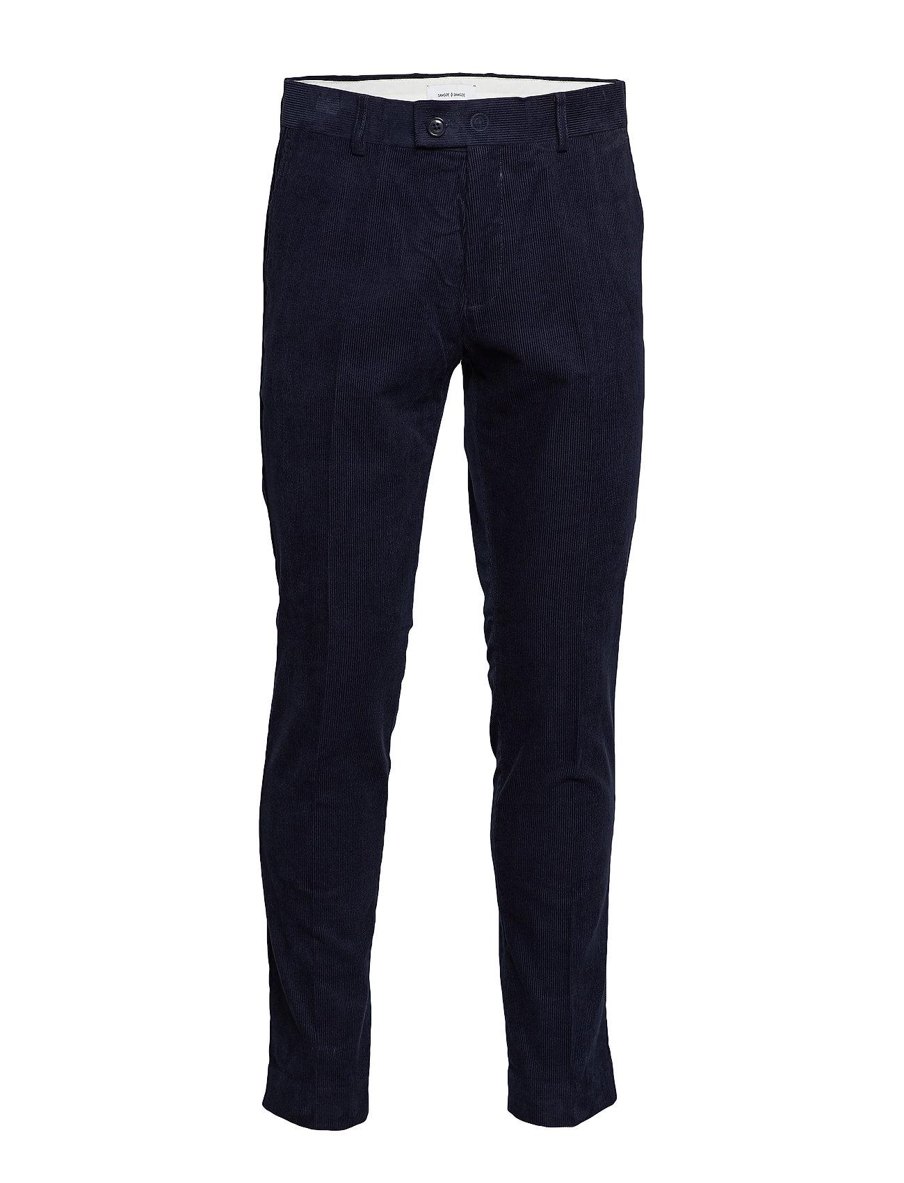Samsøe & Samsøe Laurent trousers 10631 - NIGHT SKY