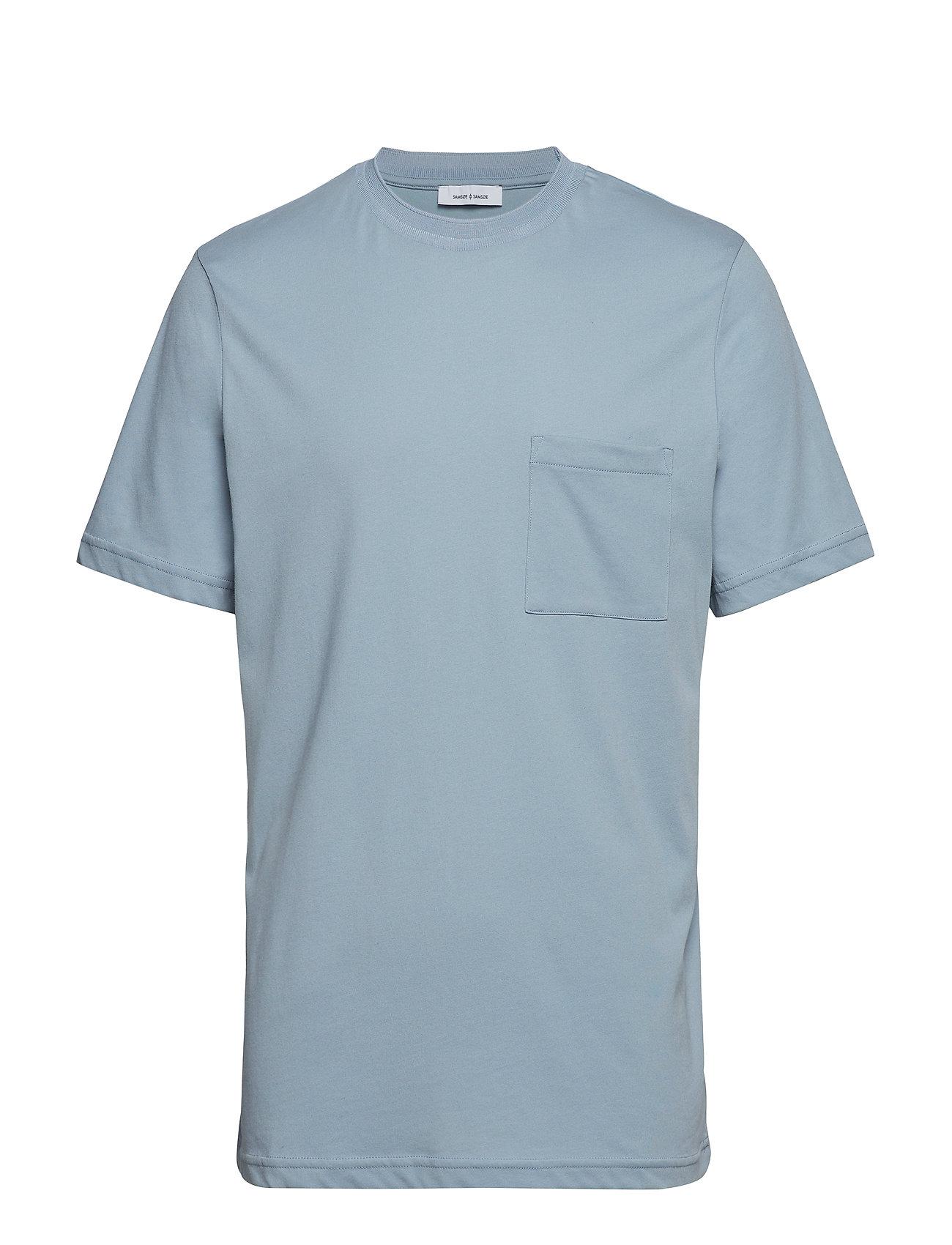 Samsøe & Samsøe Bevtoft t-shirt 10964 - BLUE FOG