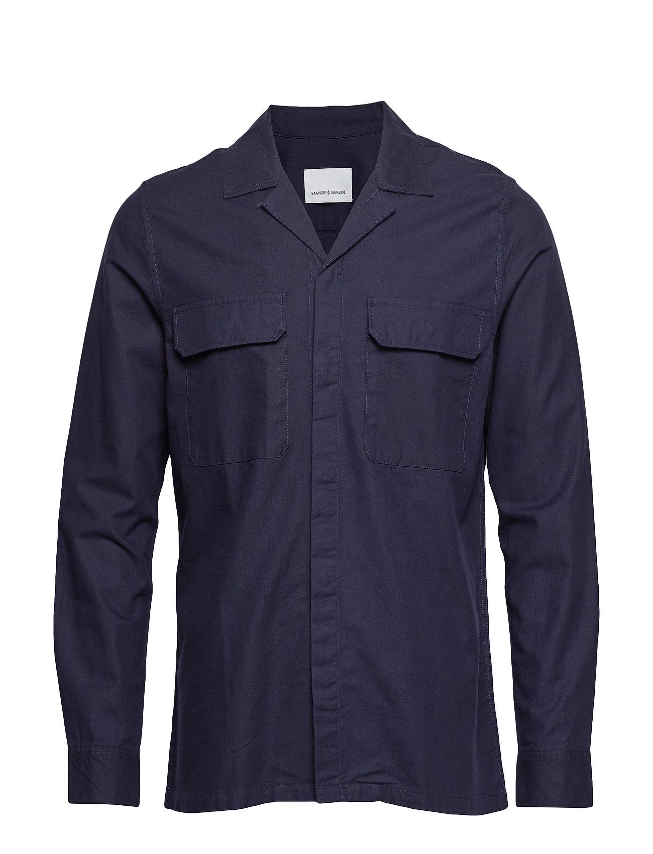 Samsøe & Samsøe Verner AE shirt 10923 - NIGHT SKY