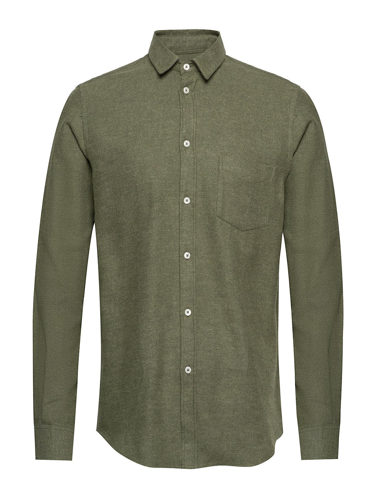 Samsøe & Samsøe Liam NA shirt 7383 - DEEP DEPTHS MEL.