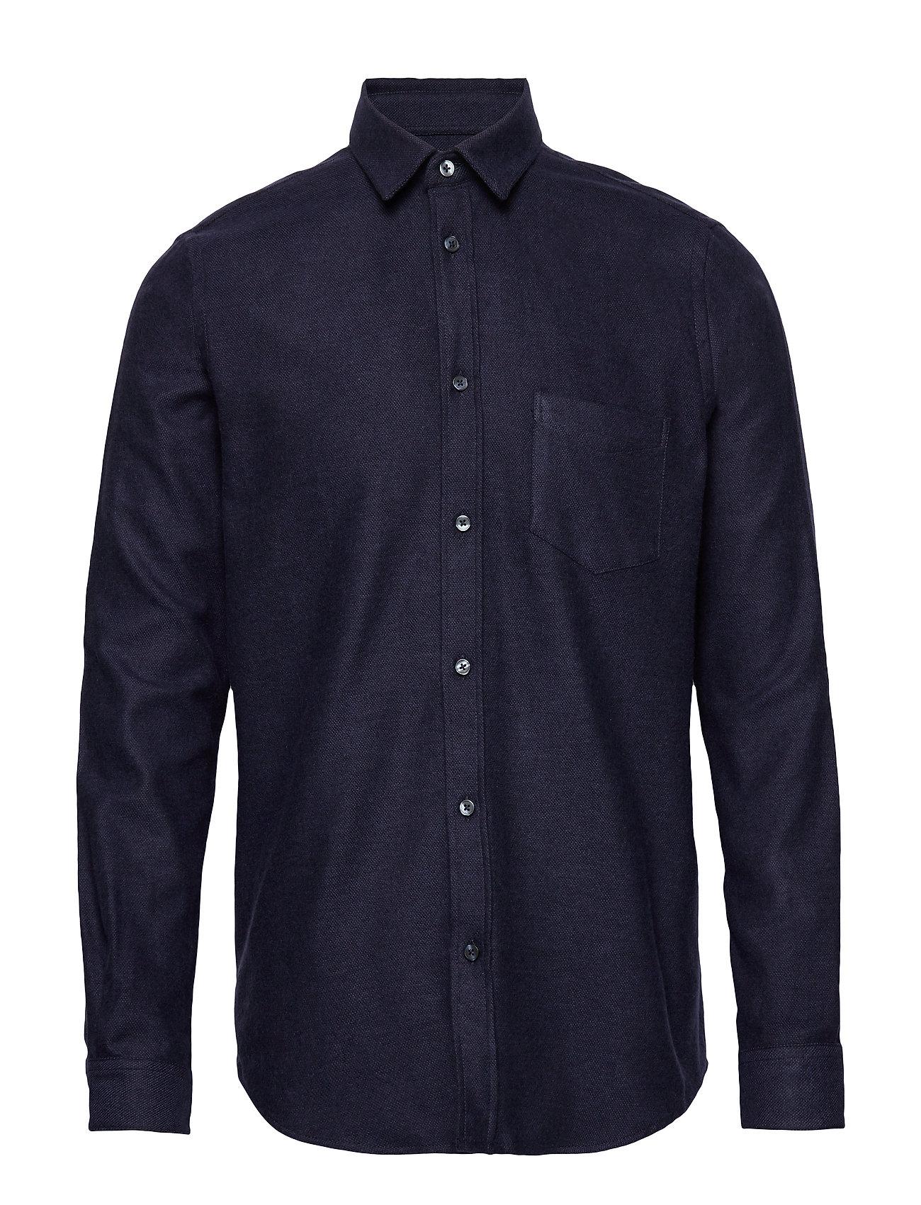 Samsøe & Samsøe Liam NA shirt 7383 - NIGHT SKY MEL.