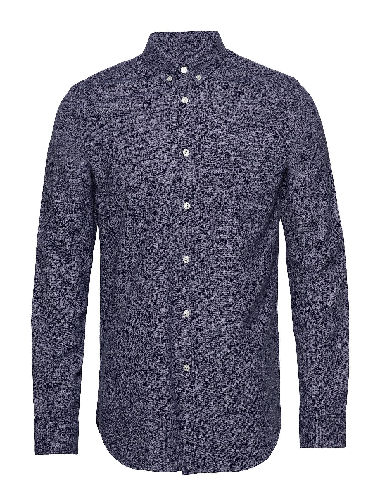 Samsøe & Samsøe Liam BA shirt 11245 - NIGHT SKY MEL.