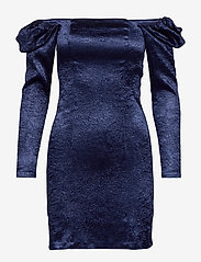 Samsøe Samsøe - Nomie dress 12734 - cocktailkjoler - blue depths - 2
