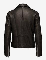 Samsøe Samsøe - Tautou jacket 2771 - kurtki skórzane - black - 4