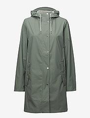 Samsøe Samsøe - Stala jacket 7357 - regntøj - chinois green - 1