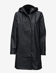 Samsøe Samsøe - Stala jacket 7357 - regnjakker - total eclipse - 0