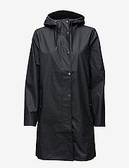 Samsøe Samsøe - Stala jacket 7357 - regnjakker - total eclipse - 1