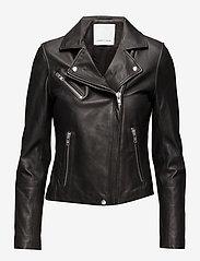Samsøe Samsøe - Duris jacket 7248 - nahkatakit - black - 1