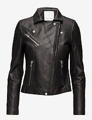 Samsøe Samsøe - Duris jacket 7248 - nahkatakit - black - 5