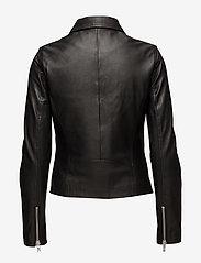 Samsøe Samsøe - Duris jacket 7248 - nahkatakit - black - 6