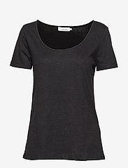 Samsøe Samsøe - Nobel tee 3170 - koszulki basic - black - 0