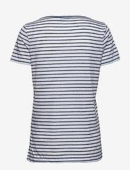 Samsøe Samsøe - Nobel tee stripe 3173 - gestreifte t-shirts - 3173 blue stripe - 1