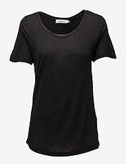 Samsøe Samsøe - Amie ss 2085 - basic t-shirts - black - 0