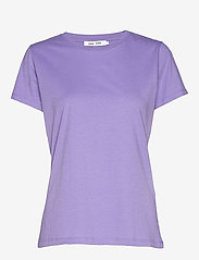 Solly tee solid 205 - ASTER PURPLE