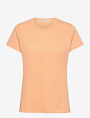 Solly tee solid 205 - PEACH NOUGAT