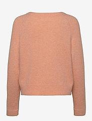 Samsøe Samsøe - Nor o-n short 7355 - tröjor - peach nougat mel. - 1