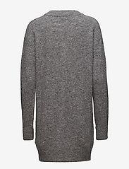 Samsøe Samsøe - Nor o-n dress 7355 - stickade klänningar - grey mel. - 1