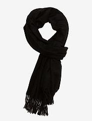 Samsøe Samsøe - Accola maxi scarf 2862 - ziemas šalles - black - 0