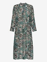 Elm shirt dress aop 9695 - BOUQUET