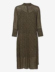 Elm shirt dress aop 9695 - WINTER TWIGGY