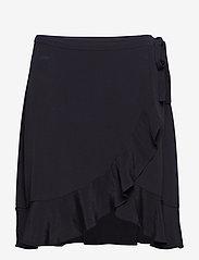 Samsøe Samsøe - Limon s wrap skirt 6515 - lyhyet - black - 0