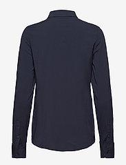 Samsøe Samsøe - Milly np shirt 9942 - pitkähihaiset paidat - dark sapphire - 1