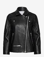 Samsøe Samsøe - Welter jacket 10786 - skinnjackor - black - 0