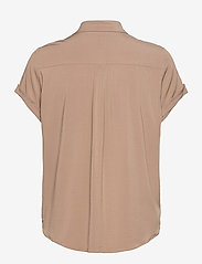 Samsøe Samsøe - Majan ss shirt 9942 - kortärmade skjortor - caribou - 2