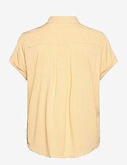 Samsøe Samsøe - Majan ss shirt 9942 - kortärmade skjortor - sahara sun - 1