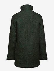 Samsøe Samsøe - Helle jacket 6182 - wełniane kurtki - shady glade mel. - 2