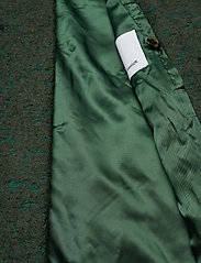 Samsøe Samsøe - Helle jacket 6182 - wełniane kurtki - shady glade mel. - 5
