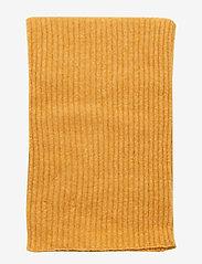 Samsøe Samsøe - Nori scarf slim 7355 - tørklæder - inca gold mel. - 2