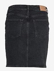 Samsøe Samsøe - Pamela skirt 11356 - jeansowe spódnice - black rock - 1