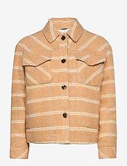 Samsøe Samsøe - Leonie jacket 11289 - wool jackets - fenugreek ch. - 1