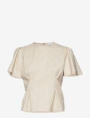 Samsøe Samsøe - Jo ss blouse 11402 - blouses à manches courtes - white flower - 0