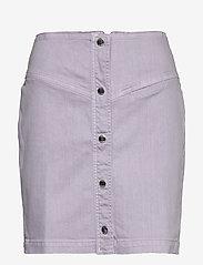 Samsøe Samsøe - Bertha skirt 11492 - jeansowe spódnice - lilac - 0